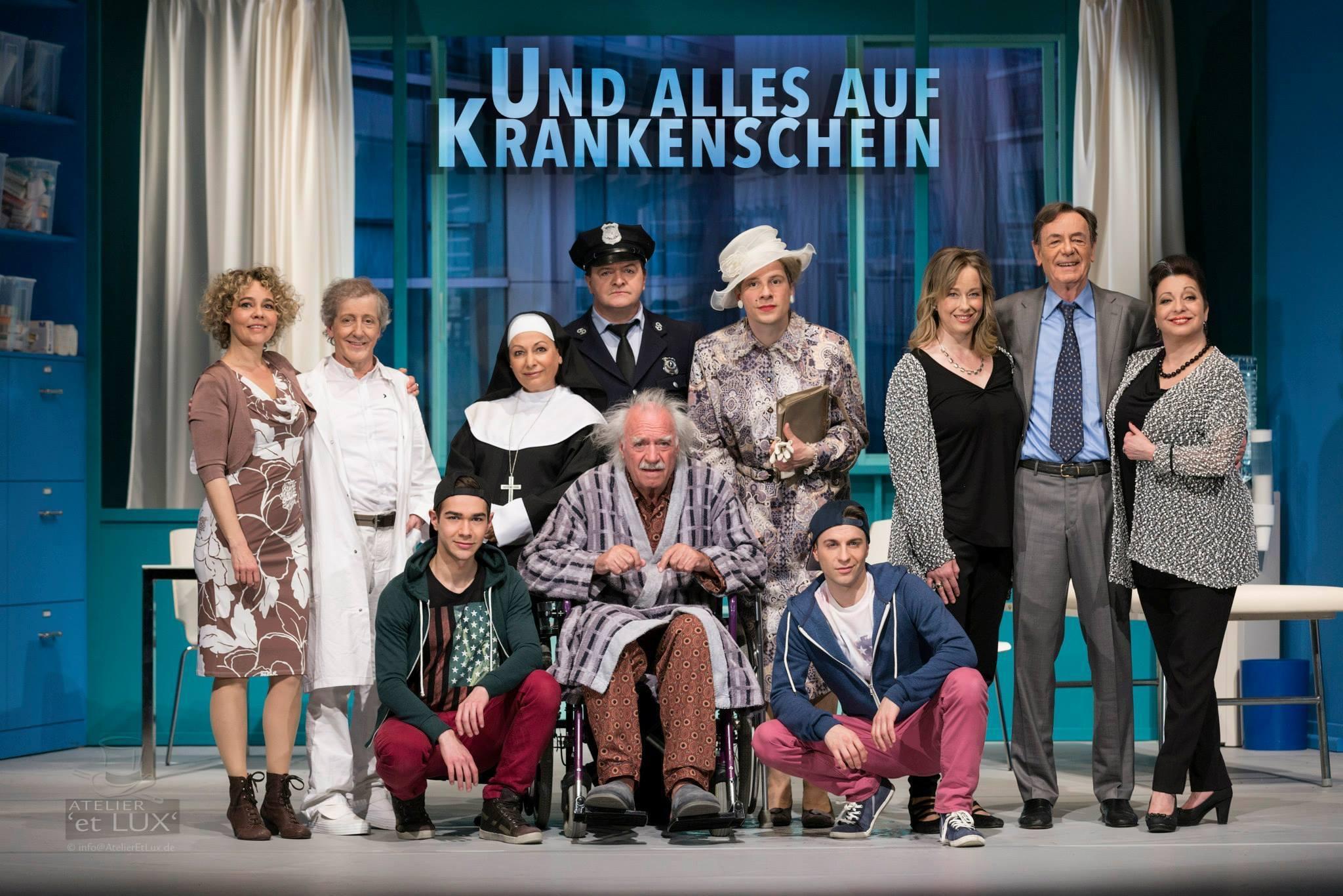 Und alles auf Krankenschein, Schlosspark Theater